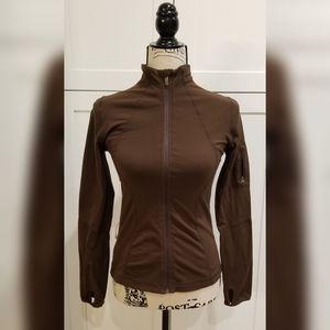 Lululemon Mocha Old School Shape Jacket